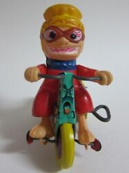 Nutty Mads Monster Tricycle Wind Up Toy By Marx Rare F/s From Japan 1960s