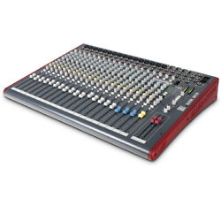 Allen And Heath Zed-22fx 22-channel Analog Mixer With Usb And Built-in Effects