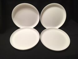 New Tupperware Round Party Plates - White - Free Shipping
