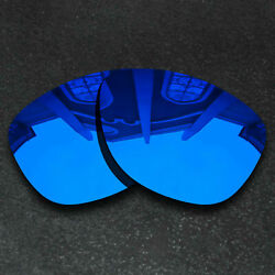 Deep Blue Replacement Lenses for Oakley Frogskins Sunglasses Frame Polarized $8.58