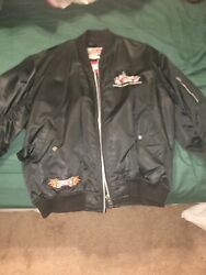 Vintage Nylon Indian Motorcycle Jacket wcolor Logo & America's Finest Patch