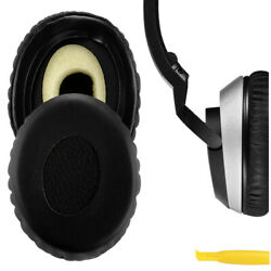 Geekria Replacement Earpads For Bose On-ear Oe2, Oe2i Headphones Black