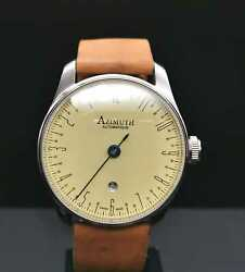 Azimuth Boutique Editions Back In Time Dial 42 Mm Swiss Made Only 1 Watch Ebay