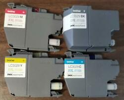 10 Sets Virgin Empty Used Genuine Brother Lc3029 Xxl Ink Cartridges Empties