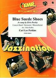 Blue Suede Shoes Carl Perkins Pop And Rock Concert Band Music Set Score And Parts