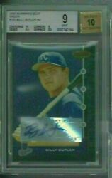 2005 Bowman's Best Billy Butler Green Rookie Rc Auto 33/399 103 Bgs 9