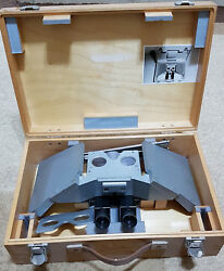 Vintage Carl Zeiss Stereoscope With Box