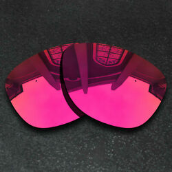 Red Replacement Lenses for Oakley Frogskins Sunglasses Frame Polarized $9.58
