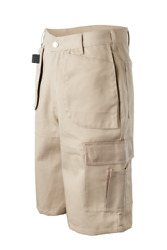 Khaki Cargo Work Short Clothing Liquidation Blow Out Pricing 2 Pallets