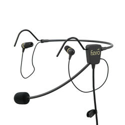 Faro Air In-ear Headset For Helicopter