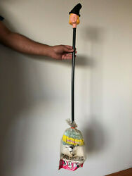 Bewitched Amsco 1965 36 Long Toy Broom - Very Rare - Vintage