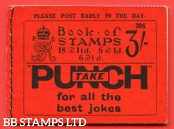 Sg. Bb29. 3/- . Edition Number 306. A Very Fine Example Of This Scarce B48430