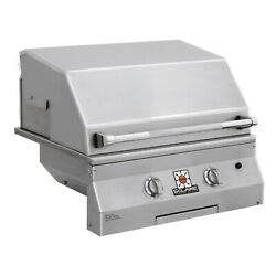 Solaire Deluxe Infrared Built-in Grill, 27-inches, Natural Gas