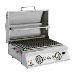 Solaire Allabout Double Burner Infrared Portable Grill With Warming Rack, Propan