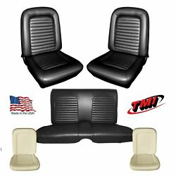 Upholstery And Seat Foam Set 1965 Mustang Convertible - Any Color Tmi Products