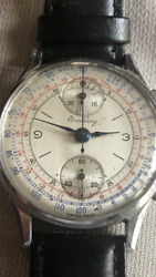 Breitling Vintage 178 Stainless Steel Watch   3100  Free Delivery