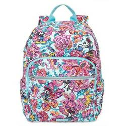 Disney Mickey Mouse Friends Colorful Garden Iconic Campus Backpack Vera Bradley $195.79