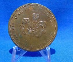 Great Britain 1811 Bristol And South Wales Ship Castle 1 Penny Token Xf