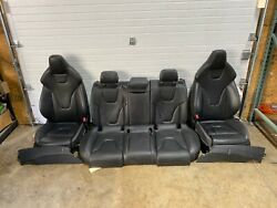 2013 2014 2015 Audi S4 Complete Interior Seats Set Leather Assembly Oem 2298