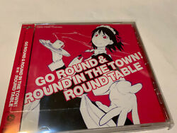 Go Round And Round In The Town Round Table Serie Animation Anime Ost Cd Soundtrack