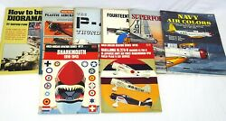 Lot Of 8 Ww2 Aircraft And Model Themed Books | Navy Aviation B-29 Diorama