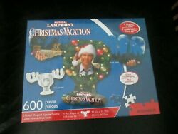 Unique Moose Mug Shaped Two Sided Jigsaw Puzzle Christmas Vacation Movie Lampoon