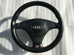 Audi Oem Nardi S-line Leather Sport Steering Wheel And Airbag A4,s4,a6,s6,a8,s8