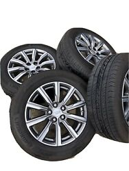 2019 Cadillac Xt4 18 Oem Wheels And Tires Set Of 4 With Lug Nuts And Tpms