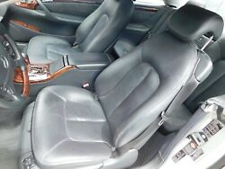 W215 Cl500 Cl600 Cl55 Drivers Seat Leather Black - Left - Pick Up Only