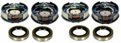 Dexter 10 X 2-1/4 Electric Trailer Brake Assembly - 2 Left Hand And 2 Right Hand