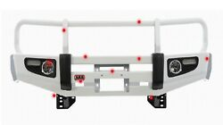 Arb, Usa 3423130 Front Deluxe Bull Bar Winch Mount Bumper
