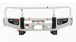 Arb, Usa 3420210 Front Deluxe Bull Bar Winch Mount Bumper