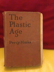Rare Antique Novel 1924 The Plastic Age Percy Marks Banned Book Controversial