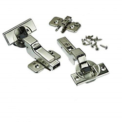 Blum Soft-close 110anddeg Blumotion Clip Top Inset Hinges For Frameless Cabinets