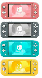 New Nintendo Switch Lite 32gb Handheld Video Game Console -- 4 Colors Available