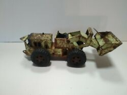 Vintage 1970s Tonka Front End Loader Four Wheel Drive Construction Toy