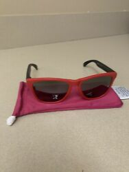 oakley frogskin sunglasses. Blk And Red . Prizm $90.00