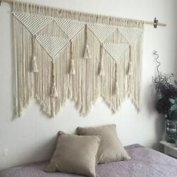 Wall Hanging Handwoven Cotton Rope Decor Tapestry Home Wall Hanging Decorations