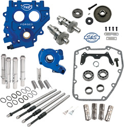 S And S Cycle 585 Ez Series Cam Chest Kit Gear Driven For 99-06 Harley Davidson