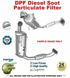Cat And Sic Dpf Soot Particulate Filter For Ford Mondeo Iv 1.6 Tdci 2011-2014
