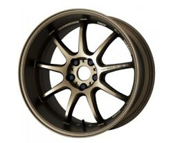 Work Emotion D9r 18x7.5 +38 5x112 Ash Titanium Set Of 4 For Audi S3 From Japan