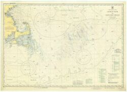 Georgeand039s Bank And Nantucket Shoals Map - 1943