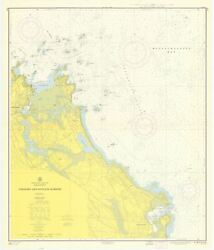 Scituate And Cohasset Map - 1958