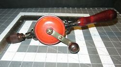 Vintage Millers Falls 77a Single Speed Hand Drill Egg Beater