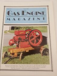 Gas Engine Magazine August 1994 - About Antique And Vintage Tractors And Engines