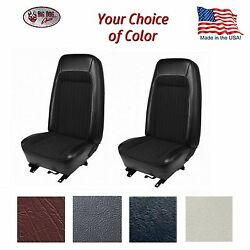 Front And Rear Bucket Seat Upholstery For 1979 - 80 Fox Body Mustang Hatchback
