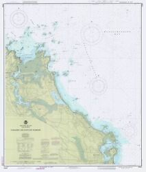 Cohasset And Scituate Harbors Map - 1990