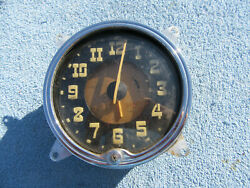 1949 50 Hudson Clock Pacemaker Super Six Eight Commodore