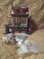 Deptartment 56 Dickens' Village Series Hather Harness Lighted House