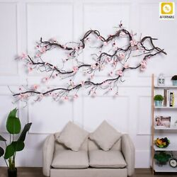 Magnolia Hanging Branches Wall Flowers Ivy Vine Wreath Artificial Flowers Arch